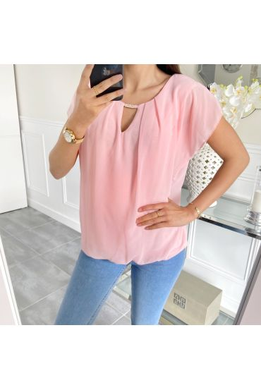 TOP GORDIJN 5457 ROZE