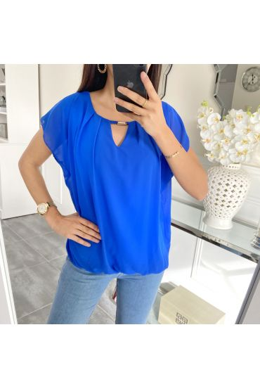 TOP GORDIJN 5457 ROYAL BLUE