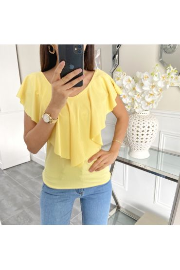 TOP RUSTLE 5459 YELLOW