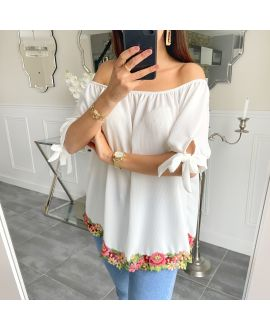 TUNIC BASIC LACE 5534 WHITE