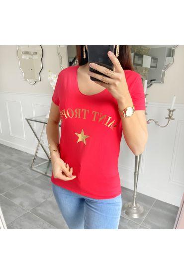 T-SHIRT SAINT TROPEZ 5533 RED