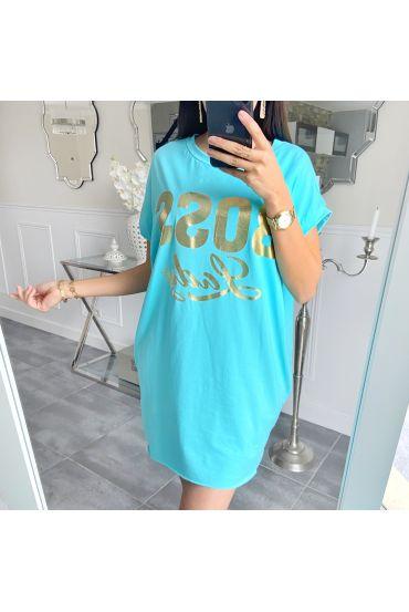 TUNIC BOSS LADY 5508 BLUE LAGOON