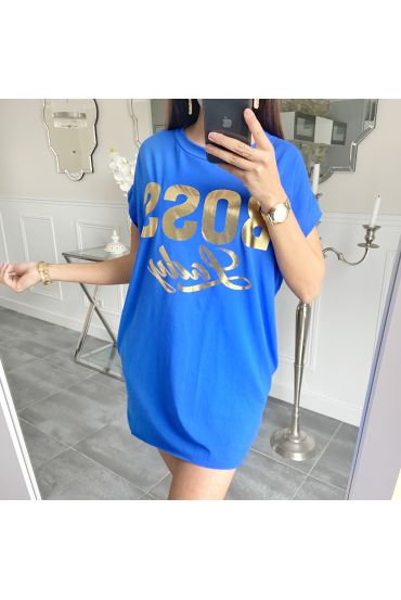 TUNIC BOSS LADY 5508 ROYAL BLUE