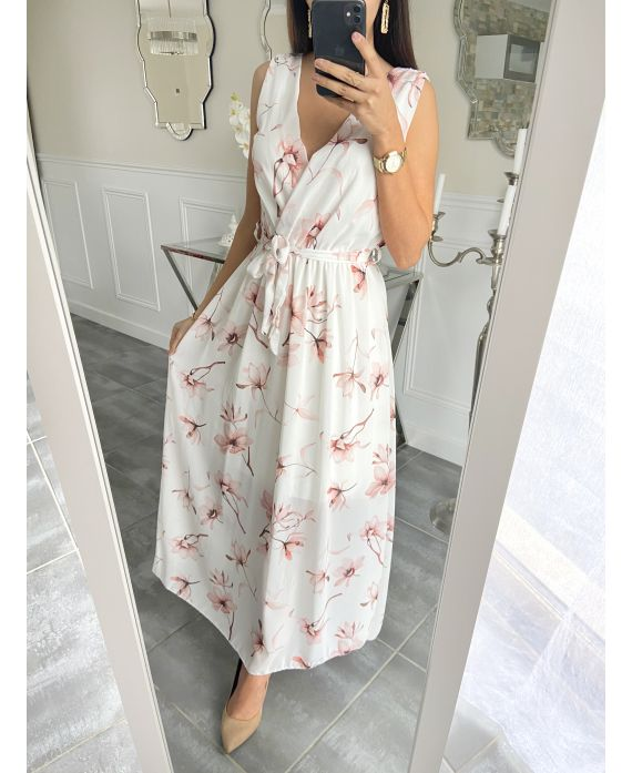 LONG DRESS PRINTED 5498