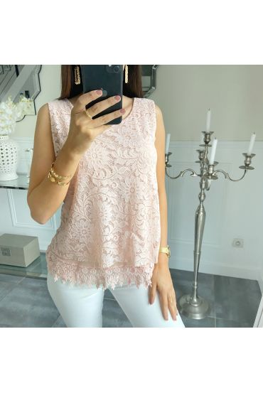 LACE TOP 5536 PINK