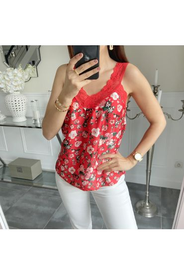 TOP CAMISOLE 5528 RED