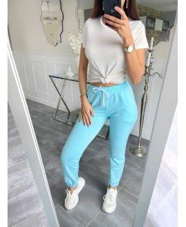 JOGGING PANTS 5516 AZURE BLUE