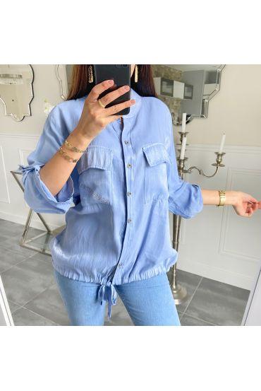 SHIRT BRILLIANT 5522 BLUE