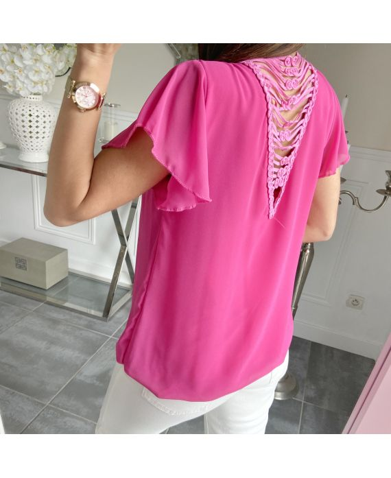 TOP SAIL OPEN BACK 5505 FUCHSIA