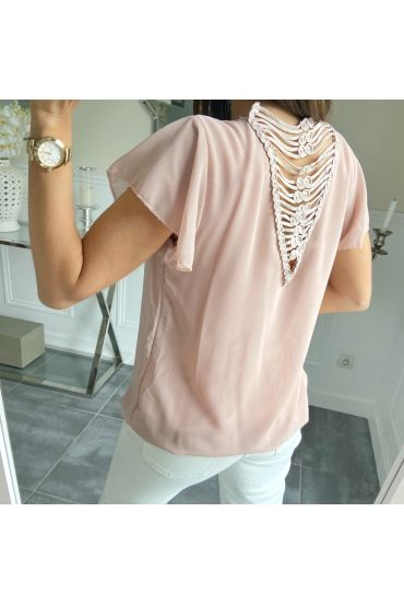 TOP SAIL OPEN BACK 5505 ROSE