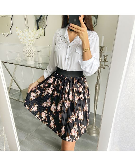 SHORT SKIRT WITH PLEATS 5502