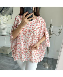 TUNIC VEIL FLOWER 5492 WHITE