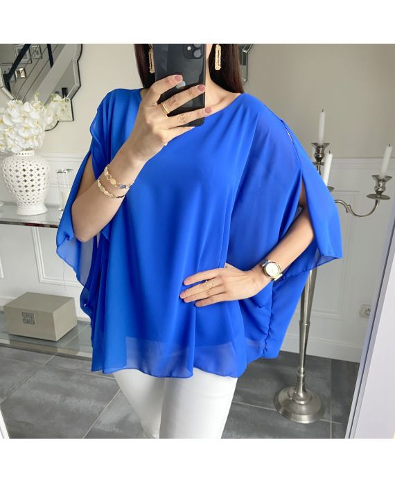TUNIC CLOAKING 5490 ROYAL BLUE