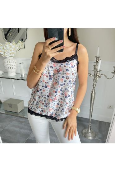 TOP CAMISOLE LACE 5494 WHITE