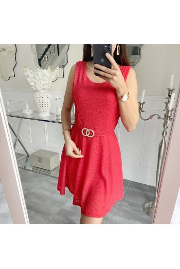 DRESS THE BACK CROSSES 5495 RED