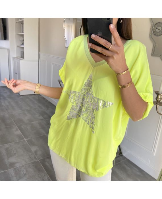 TOP STAR EFFECT DELAVE 5540 YELLOW FLUO