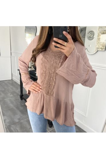 TUNIQUE BOHEME 1038 TAUPE
