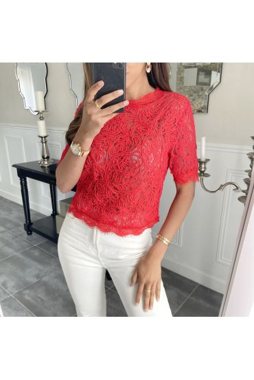 PACK OF 4 LACE TOP 935