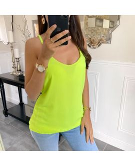 TOP TANK TOP KINGDOM 5736 YELLOW FLUO
