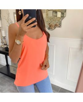 TOP TANK TOP KINGDOM 5736 ORANGE FLUO