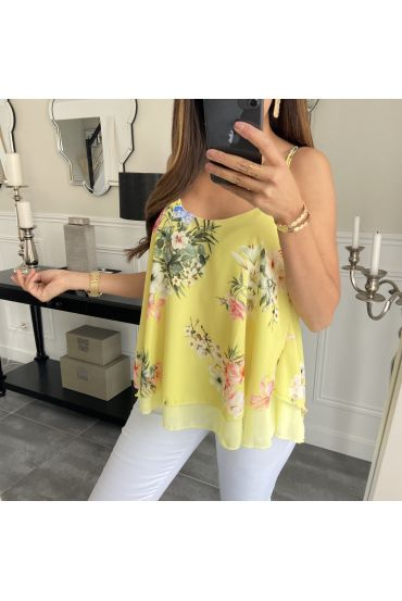 TOP FLOWER 6645 YELLOW