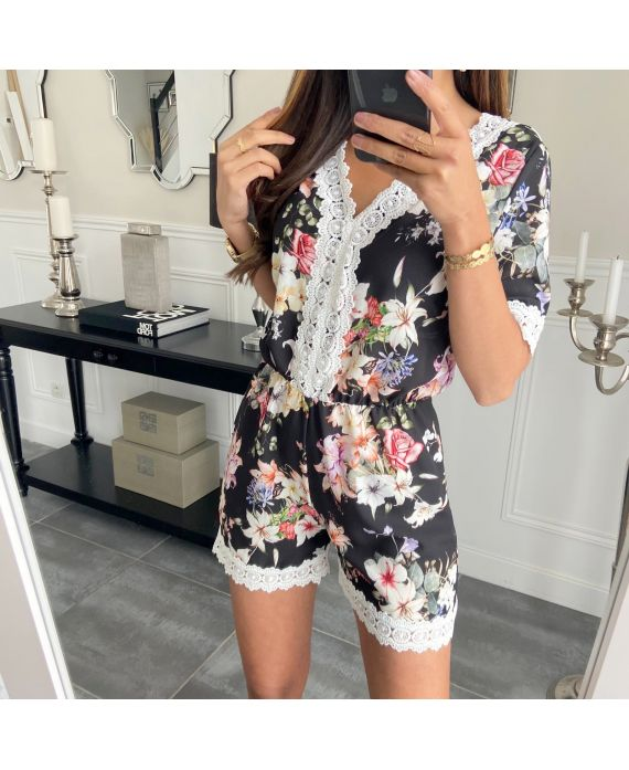 COMBINATION SHORTS FLORAL 6595G
