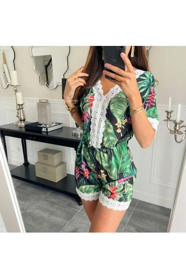 COMBINATION SHORTS FLORAL 6795IA