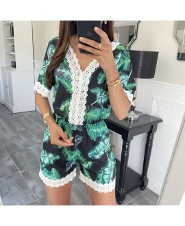 COMBINATION SHORTS FLORAL 6795IF