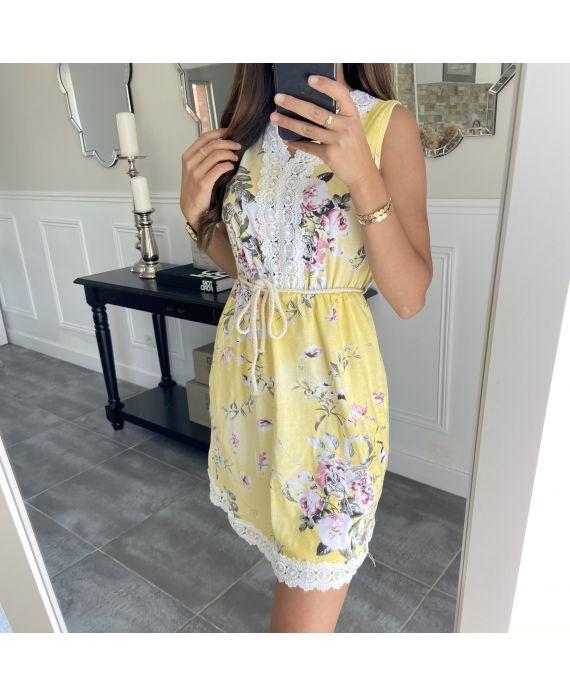 DRESS FLOWER 7769i YELLOW