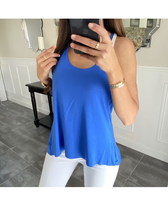 TOP BACK TIE 5850 ROYAL BLUE