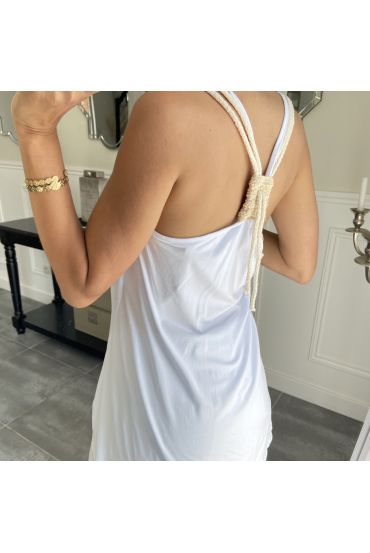 TOP BACK TIE 5850 WHITE