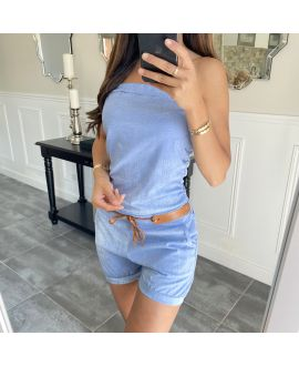 COMBINATION SHORT 6755 BLUE