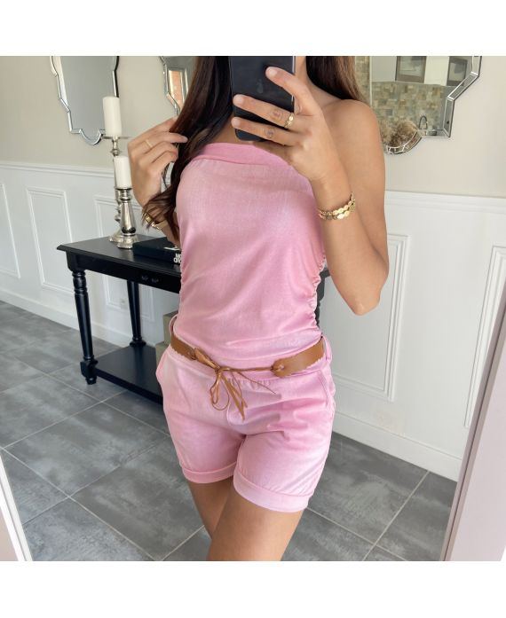 COMBINATION SHORT 6755 PINK