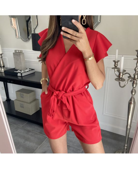 COMBINATION SHORT 7883 RED