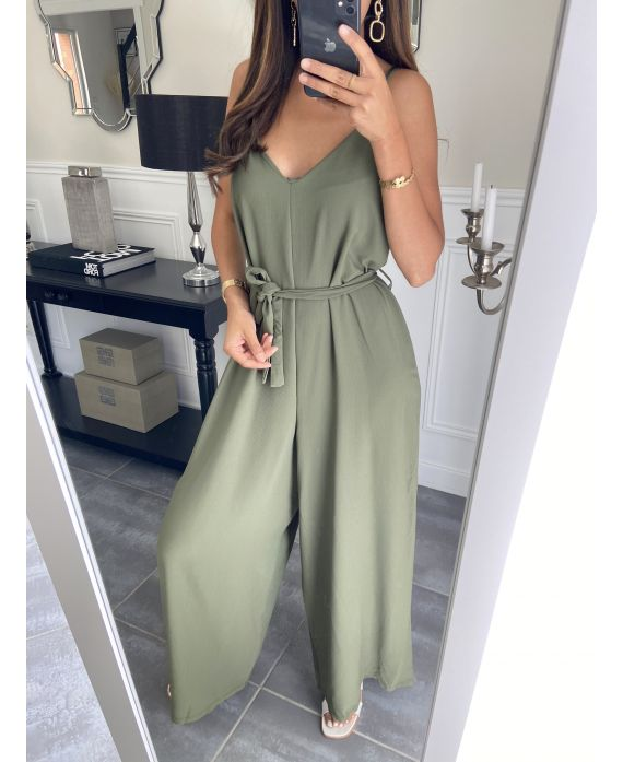 COMBINATION PANTS 7707 MILITARY GREEN