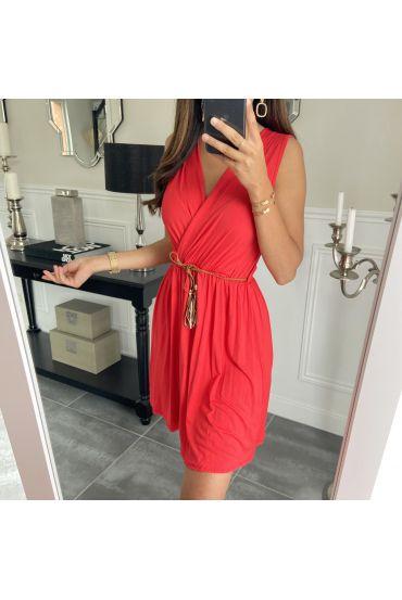 DRESS 1005 RED