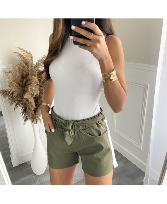 SHORT A BAND 9966 MILITARY GREEN