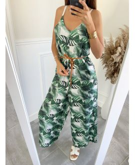 COMBINATION PANTS TROPICAL 7707 WHITE
