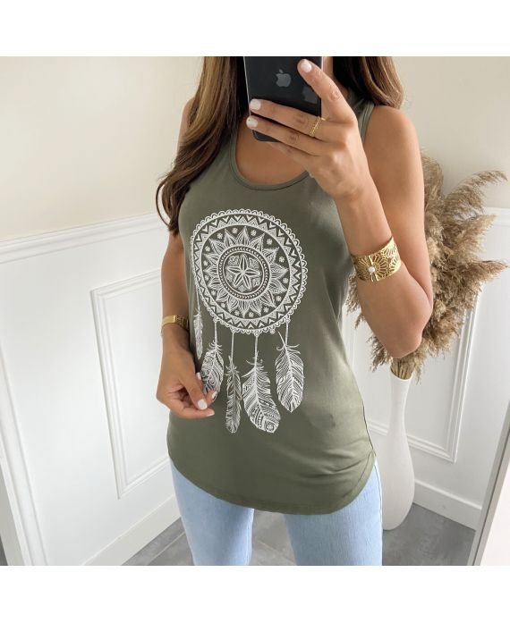 TOP CATCHES DREAMS 6701 MILITARY GREEN