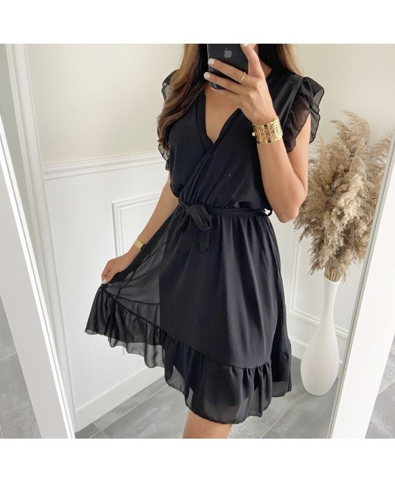 DRESS CLOAKING 2810 BLACK