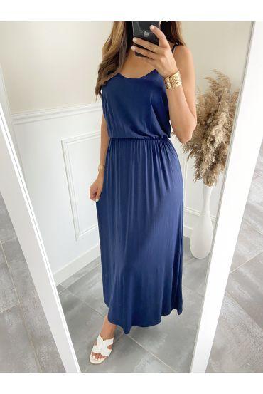 LONG DRESS 2811 NAVY BLUE