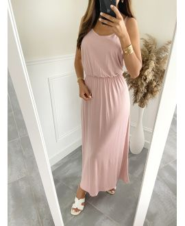 LONG DRESS 2811 ROSE