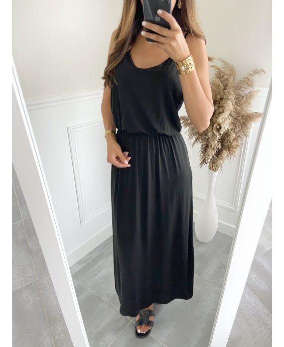 LONG DRESS 2811 BLACK
