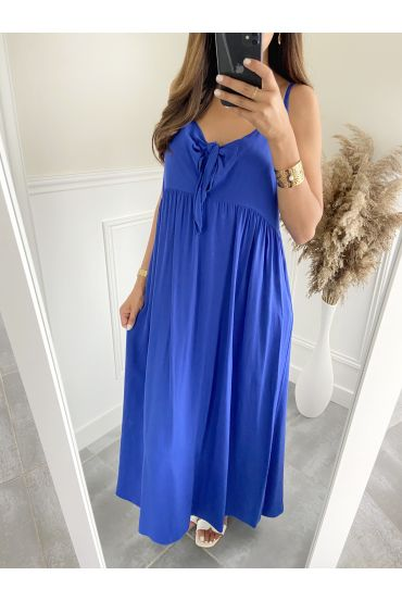 DRESS HAS SHOULDER STRAPS 2811 ROYAL BLUE