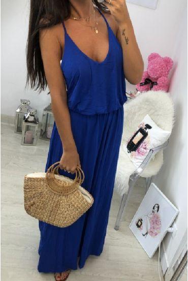 LONG DRESS 2811 ROYAL BLUE