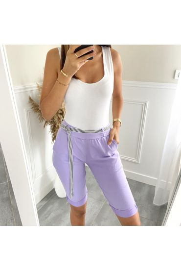 CAPRI PANTS 2824 PURPLE