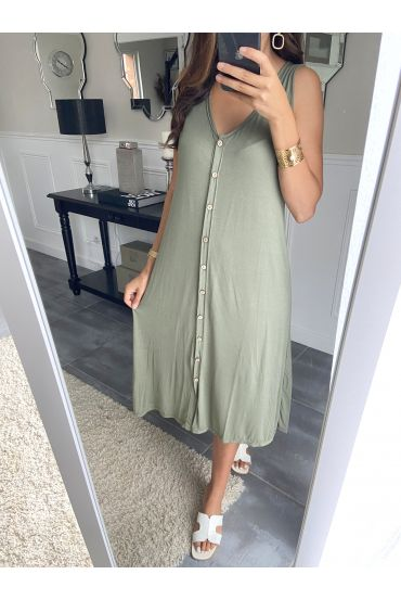 DRESS 2842 MILITARY GREEN