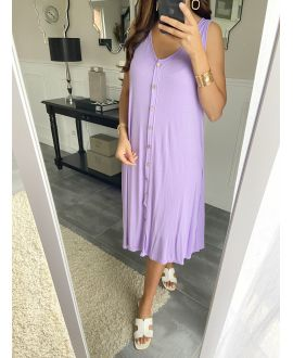 DRESS 2842 PURPLE