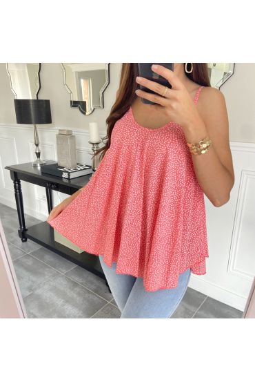 TOP STRAPLESS 2951 CORAL