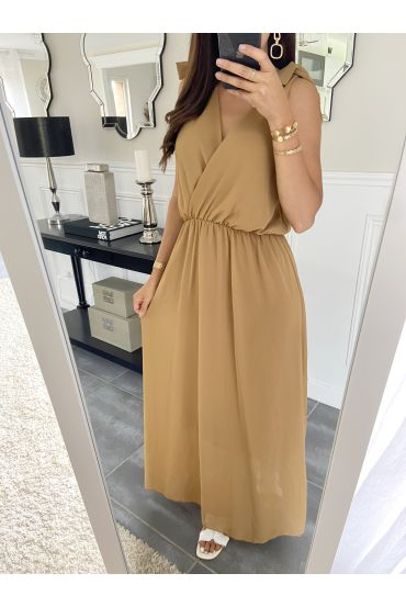 LONG DRESS 2945 CAMEL